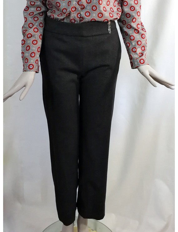 niu - trouser - pantalone motivo laterale