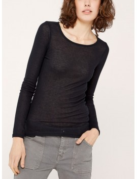 acoté - t shirt - tshirt basic winter 18 noir