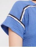 acoté - blouse - oasis blouse bleu