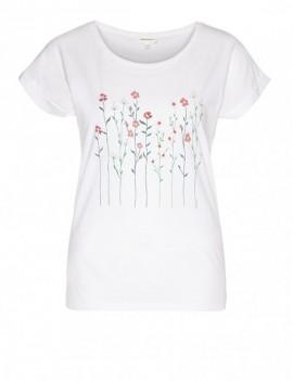 livaa flowery - t-shirt - armedangels