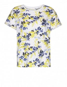 naalin dispersed flowers - t-shirt - armedangels