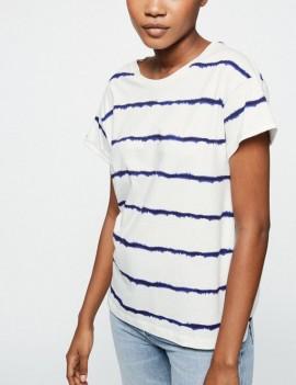 naalina batik stripe - t-shirt - armedangels