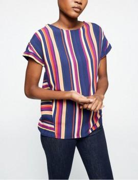 lioraa multicolor stripes - top - armedangels
