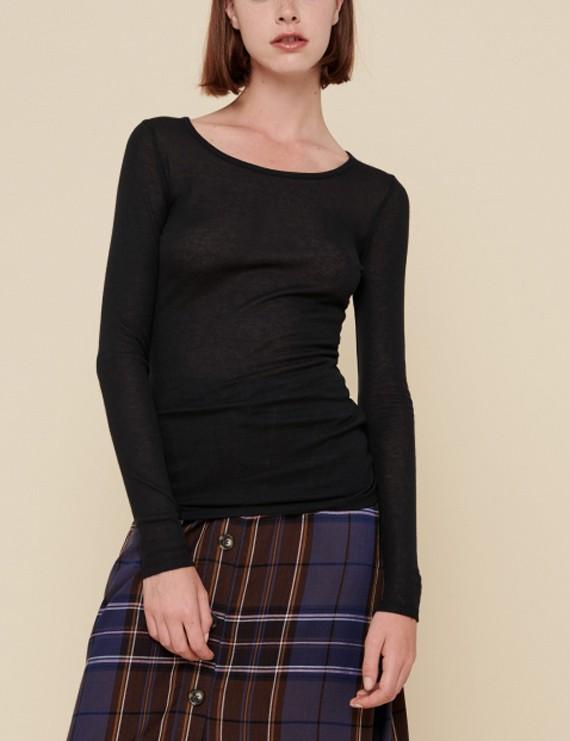 acoté - tshirt - basic noir