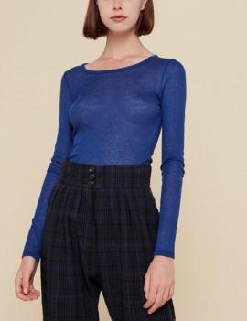 acoté - tshirt - basic bleu