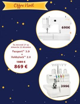 Offre de Noël Passport 3.0 + Hobbylock 2.0