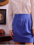 garance - skirt - fadila bleue