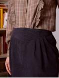 garance - skirt - fadila noire