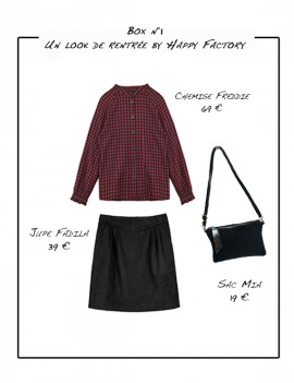 Box n°1 : un look de rentrée by Happy Factory