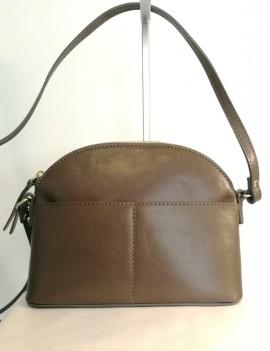 Camélia - sac en cuir marron