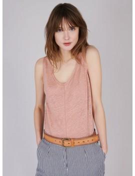 Acoté - Débardeur tricoté en lin - MANNY
