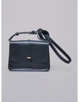 Acoté - Mini sac en cuir FABIAN noir