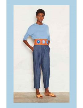 niu - Pull ample en coton Sahar