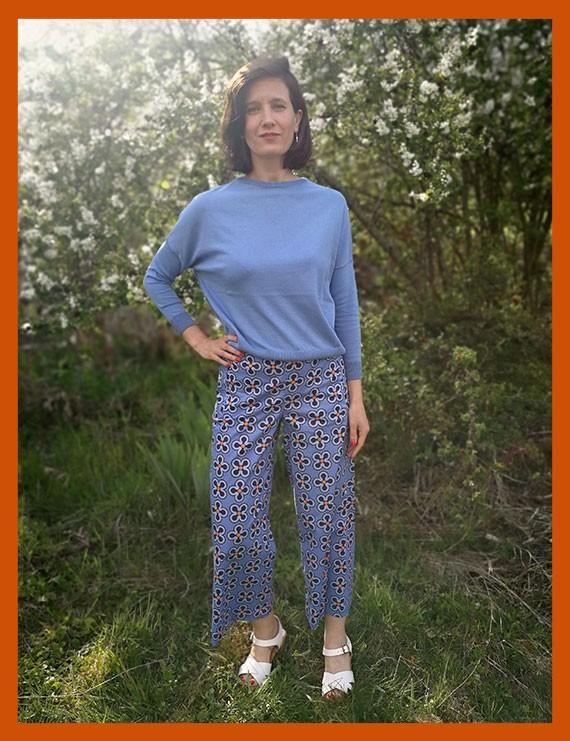 niu - Pantalon droit imprimé Mira