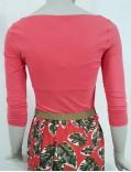 tshirt maglia ballerina rose