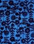 flowers on dark blue - kokka