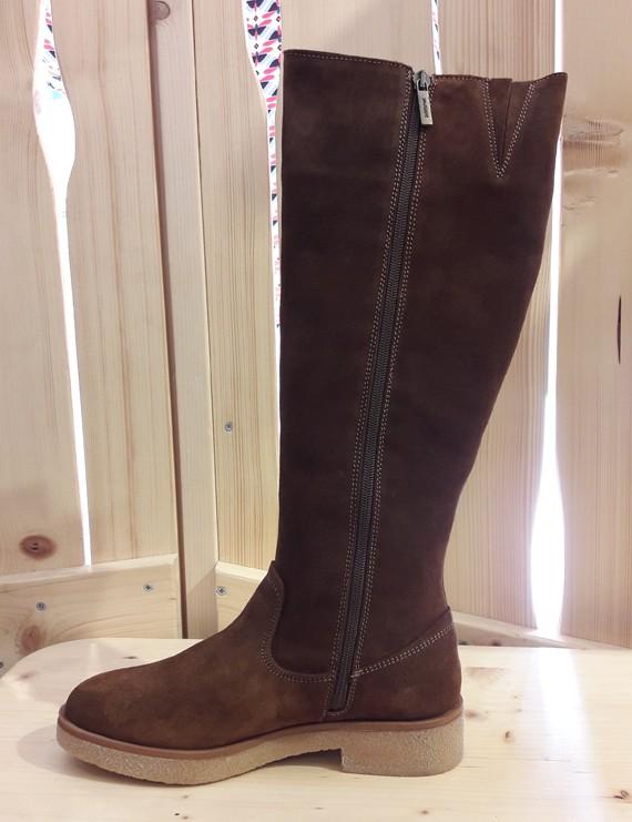 b8346814d0d Promo ! bottes en cuir noir - Gabriella